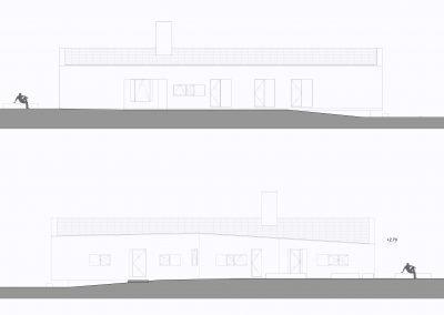 case-ville-montefiascone-Prospetti-Casa-A - Studio Gamp! Architettura