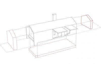 case-ville-montefiascone-volumetrico-casa-B - Studio Gamp! Architettura