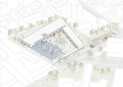 Concorso-Scuola-Pizzigoni-Assonometria-StudioGamp-Architettura